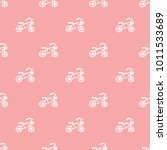 vector seamless pattern with... | Shutterstock .eps vector #1011533689