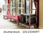 hotel luggage cart   baggage... | Shutterstock . vector #1011534097