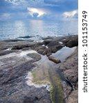 Beautiful Seascape. Sea And...