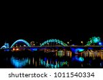 danang  beautiful and lighting... | Shutterstock . vector #1011540334