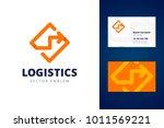 logistics logo and business... | Shutterstock .eps vector #1011569221