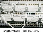 network cables in network... | Shutterstock . vector #1011573847