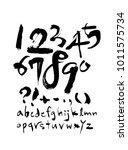 vector fonts   handwritten...   Shutterstock .eps vector #1011575734