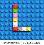 colorful letters l of alphabet...