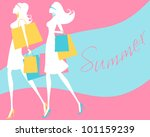 vector illustration of two... | Shutterstock .eps vector #101159239