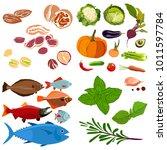 vector flat illustration of... | Shutterstock .eps vector #1011597784