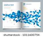 brochure layout design template ... | Shutterstock .eps vector #1011600754