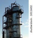 oil refining factory | Shutterstock . vector #1011602