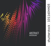 vector abstract background with ...   Shutterstock .eps vector #1011604405
