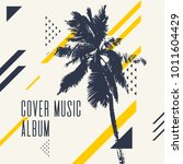cover music album. modern... | Shutterstock .eps vector #1011604429