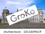 groko  short for grosse... | Shutterstock . vector #1011609619