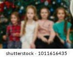celebrating a child's birthday... | Shutterstock . vector #1011616435