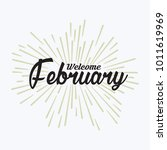 hand drawn typography lettering ... | Shutterstock .eps vector #1011619969