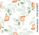 abstract elegance pattern with... | Shutterstock .eps vector #1011634897