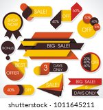 big sale labels and banners ... | Shutterstock .eps vector #1011645211