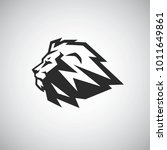 lion head vector icon logo... | Shutterstock .eps vector #1011649861