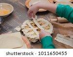 master class for children on... | Shutterstock . vector #1011650455