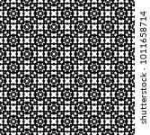 seamless vintage pattern.... | Shutterstock .eps vector #1011658714