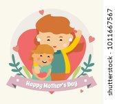 women's day background | Shutterstock .eps vector #1011667567