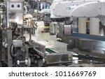industry 4.0 robot concept .the ... | Shutterstock . vector #1011669769