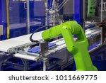 industry 4.0 robot concept .the ... | Shutterstock . vector #1011669775
