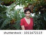 natural beauty and organic... | Shutterstock . vector #1011672115