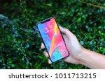 bangkok thailand   iphone x... | Shutterstock . vector #1011713215