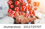 businessman on blurred...   Shutterstock . vector #1011725707