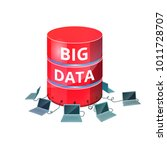 big data storage. database with ...   Shutterstock .eps vector #1011728707