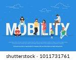 mobility concept vector