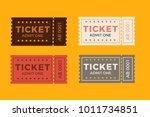 ticket icon vector illustration ... | Shutterstock .eps vector #1011734851