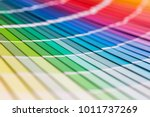 Colour Swatches Book. Rainbow...