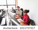 developing programming and... | Shutterstock . vector #1011737317