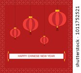 chinese new year | Shutterstock .eps vector #1011752521