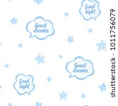 baby sleep blue illustration... | Shutterstock .eps vector #1011756079