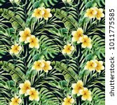 watercolor pattern with...   Shutterstock . vector #1011775585
