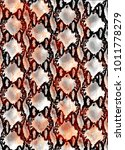 snake skin texture.  texture...   Shutterstock .eps vector #1011778279