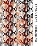 snake skin texture.  texture...   Shutterstock .eps vector #1011778291