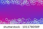 cleaning foam on gradient... | Shutterstock .eps vector #1011780589