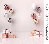 3d interior illustration with... | Shutterstock . vector #1011781771