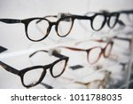 eyeglasses in a store | Shutterstock . vector #1011788035