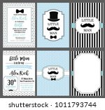a set of blue  white and black... | Shutterstock .eps vector #1011793744