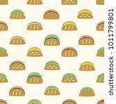 color tortilla tacos food icons ...   Shutterstock .eps vector #1011799801