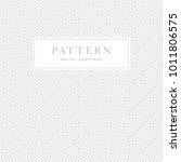 simple chevron seamless pattern.... | Shutterstock .eps vector #1011806575