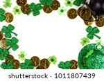 St Patricks Day Frame Isolated...