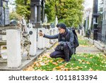 woman photographer taking... | Shutterstock . vector #1011813394