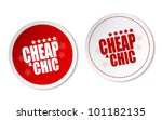 cheap   chic stickers