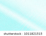 blue and white dotted halftone ... | Shutterstock .eps vector #1011821515