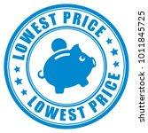 lowest price guarantee vector...   Shutterstock .eps vector #1011845725