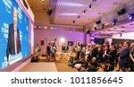 davos  switzerland   jan 26 ... | Shutterstock . vector #1011856645